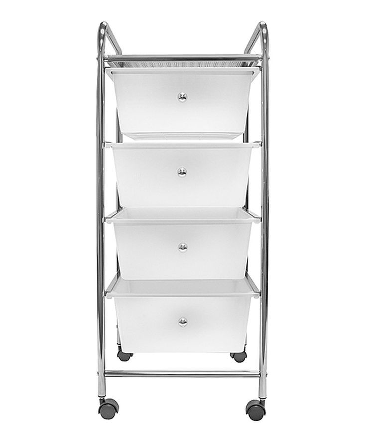 This Four-Drawer Rolling Storage Bin Cart by Sorbus is perfect! #zulilyfinds