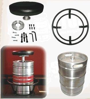 Kit banco de barril de chopp