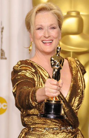 Meryl Streep --- a very down to earth and humbling actress -- never let fame get to her head. Love this woman