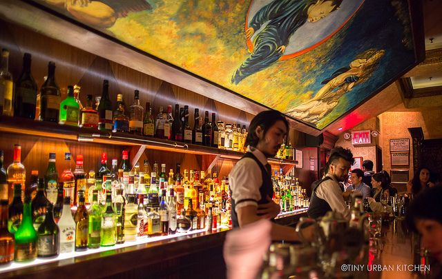 Angel's Share New York, rated the second best bar in America by GQ Magazine in 2010