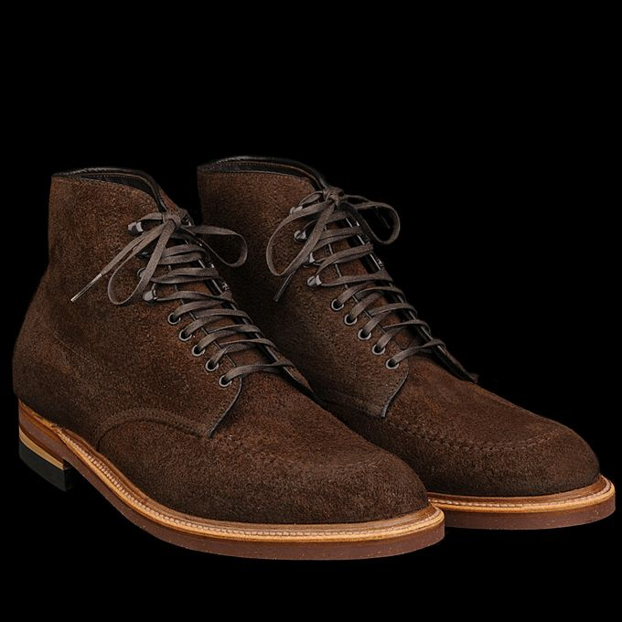 UNIONMADE - Alden - Mason Indy Boot in Reverse Tobacco Chamois 40525H