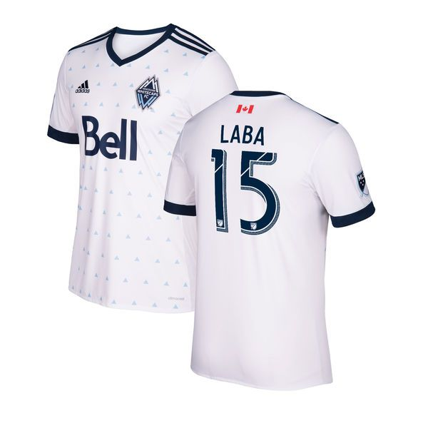 Matias Laba Vancouver Whitecaps FC adidas Youth 2017 Primary Replica Jersey - White - $94.99