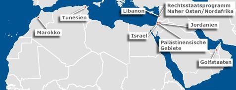 Umbrüche im Maghreb und im Nahen Osten, Konrad-Adenauer-Stiftung