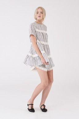 Fountain Top and Shorts in Stripe