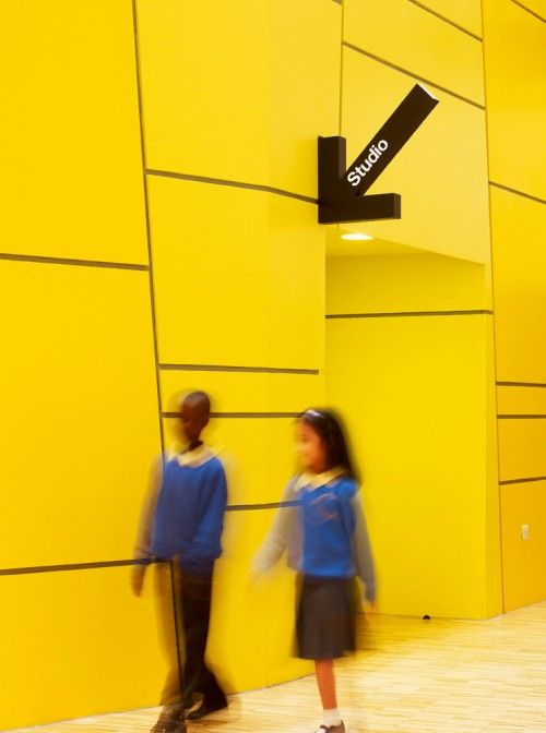 Yellow! Michael Faraday Community School
