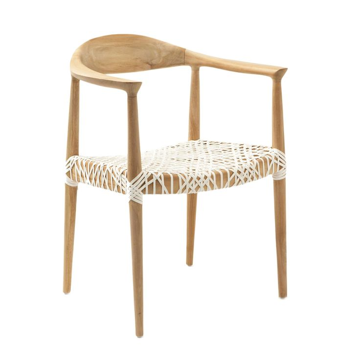 product chair material reclaimed teak and rattan color light oak and white