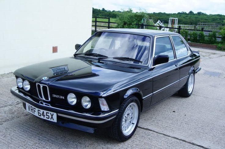 1981 BLACK E21 BMW 323i