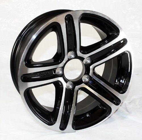 14 x 55 Sendel T09 Aluminum Trailer Rim Black Machined 5x450 Lug Pattern 2200 lb Capacity ** Find out more about the great product at the image link.
