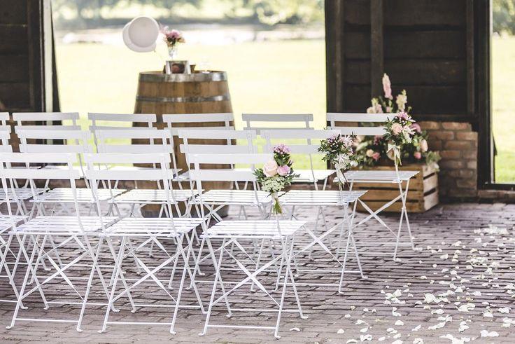 ceremonie opstelling Vier Verhuur #bruiloft #wedding #trouwen