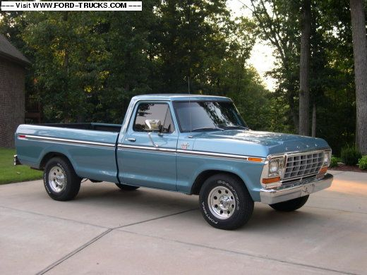 Not many people know it, but this is my dream truck. My dad had a red and white one when I was born and some of my first memories were made in that truck. - AW 1979 Ford F150 4x2 - 1979 FORD F-150 XLT RANGER