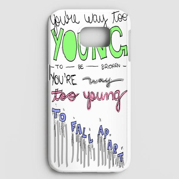 3Oh!3 IM Not The One Lyric Cover Samsung Galaxy Note 8 Case