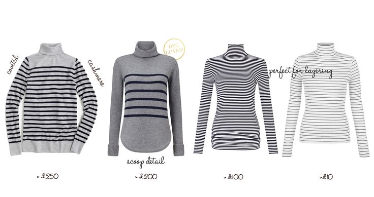 The Cole Collection ~Style Edit ~ The Striped Turtleneck