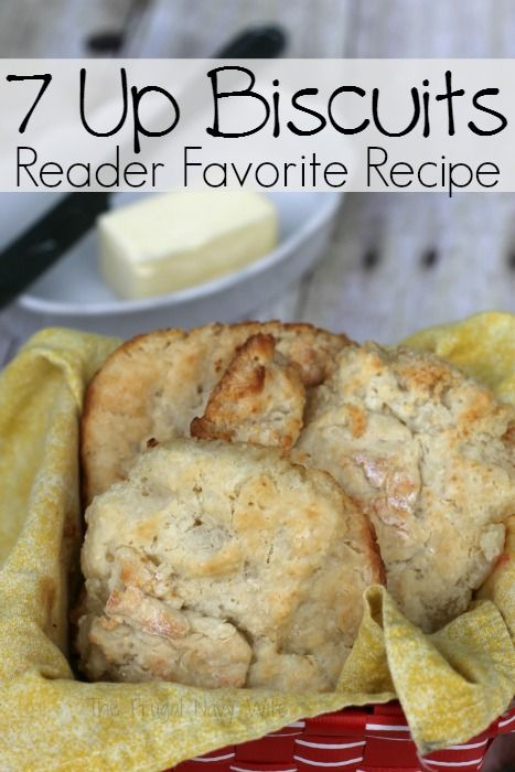 Reader Favorite Recipe 7 Up Biscuits - This recipe is very easy and the biscuits are amazing! looking to really wow your guests with some southern food? This is the recipe!