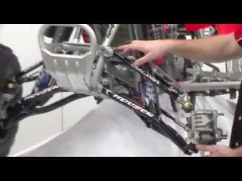 Houser Racings +1 LTMGC A-Arms For the Honda TRX450R.    ~~~~~~~ TRAX ATV Store - traxatv.com ~~~~~~~ TRAX ATV Youtube - https://www.youtube.com/channel/UCI_ZJAkR3aGdwcM0z7dO94w/videos?view=1=grid