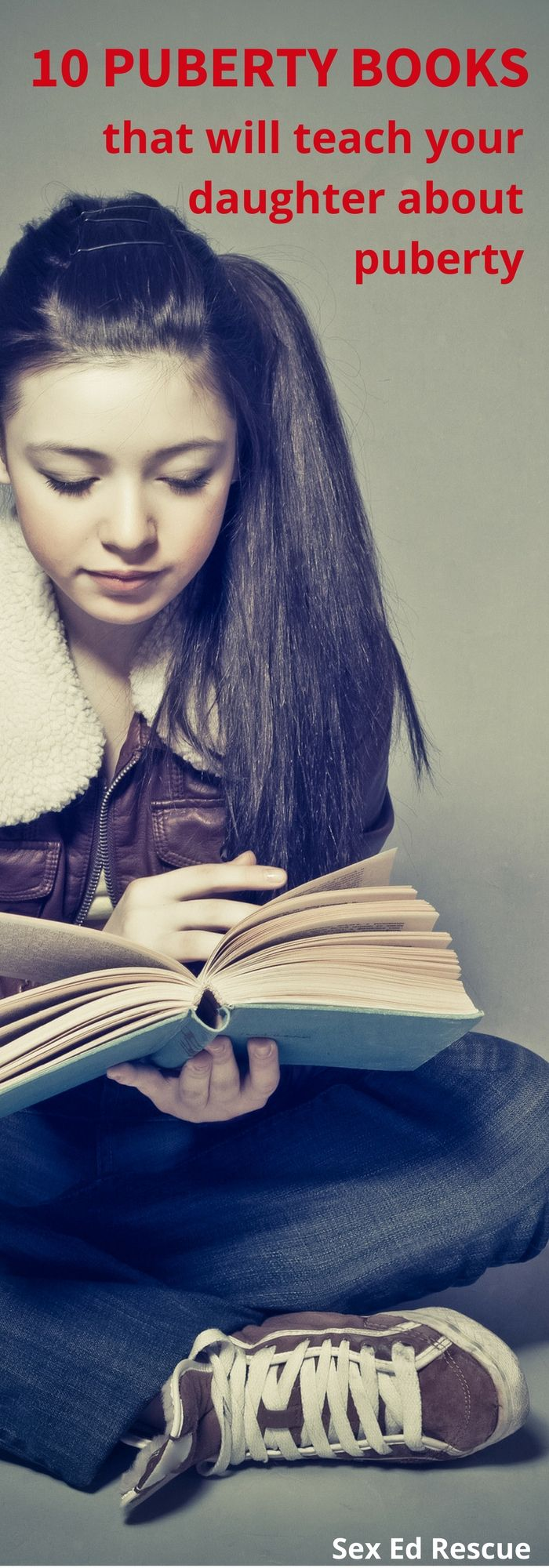 Puberty books are a great way to start talking about the big changes that are coming your way! Here are 10 favourites for you and your daughter to read!