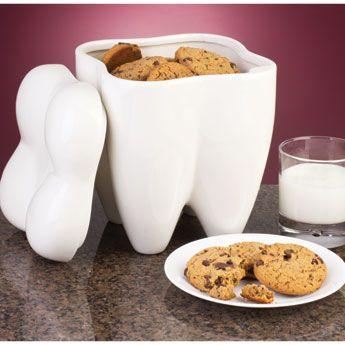 Sweet Tooth Cookie Jar