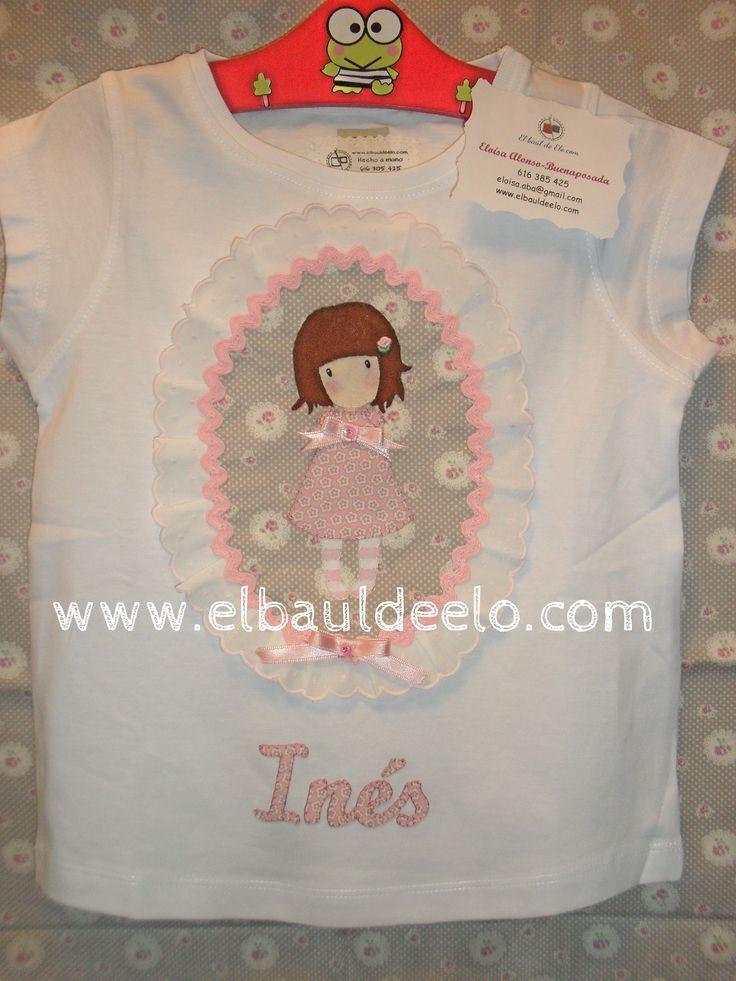 www.elbauldeelo.com aplicacion camiseta patchwork Gorjuss