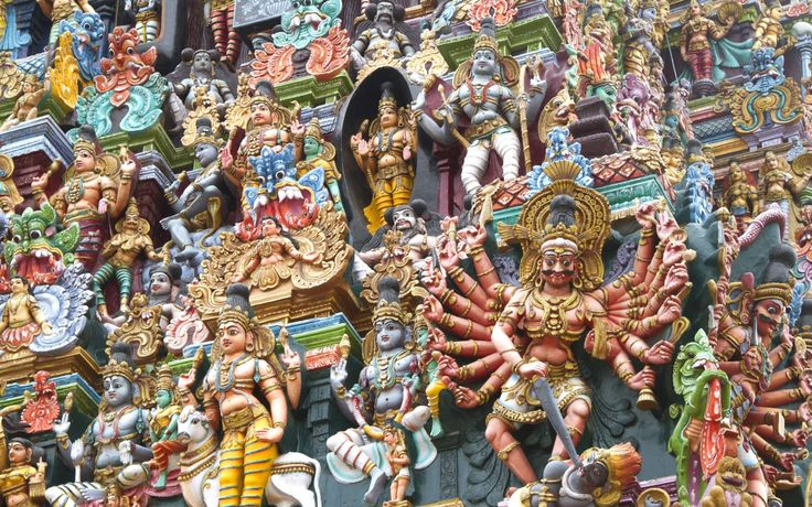MEENAKSHI SUNDARESWARAR TEMPLE, INDIATHE GREAT TEMPLES OF THE CHOLA DYNASTY UTTERLY DOMINATE MOST MAJOR TOWNS IN TAMIL NADU. FOR SHEER SCALE AND INTENSITY, THOUGH, NONE OUTSTRIPS THE ONE DEDICATED TO THE FISH-EYED GODDESS, SHRI MEENAKSHI, AND HER CONSORT, SUNDARESHWARA, IN MADURAI. PEAKING AT 46M, THE TOWERS TAPER SKYWARDS LIKE ELONGATED, STEPPED PYRAMIDS, THEIR SURFACES WRITHING WITH AN ANARCHIC JUMBLE OF DEITIES, DEMONS, WARRIORS, CURVACEOUS MAIDENS, POT-BELLIED DWARVES AND SPRITES – ALL…