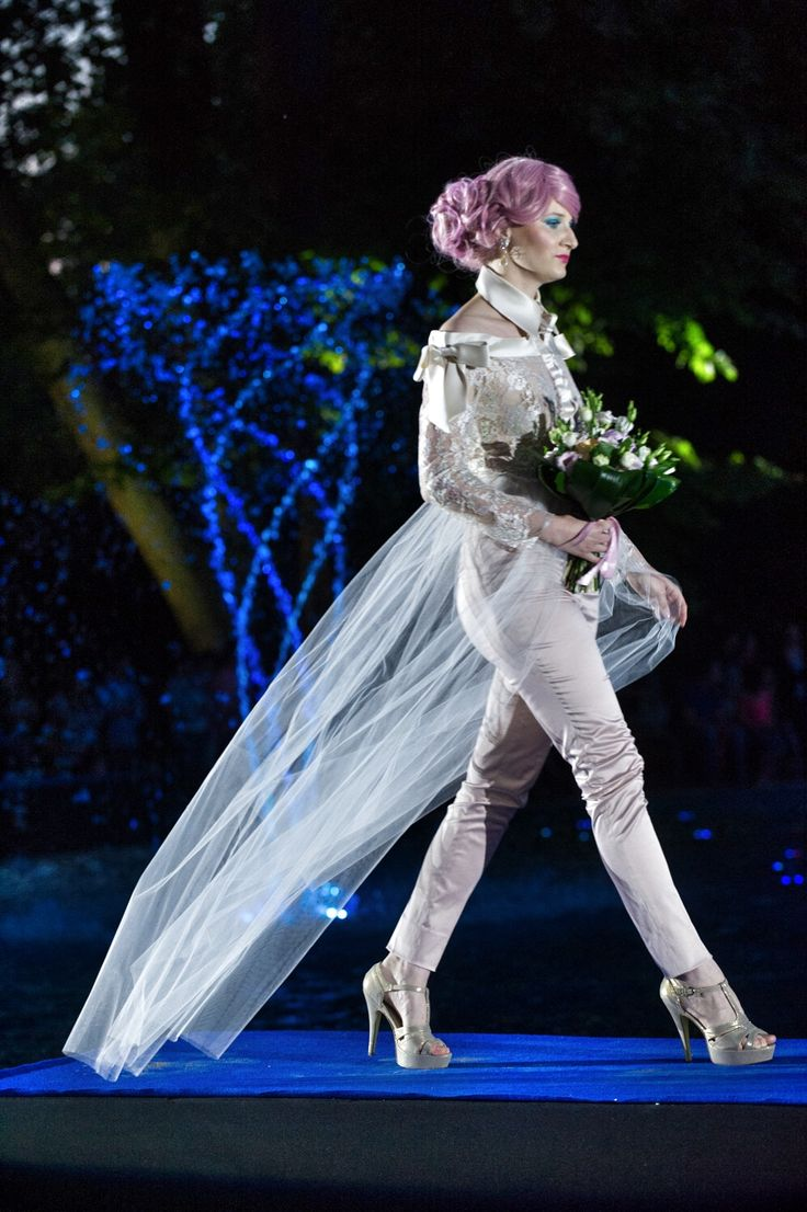 Our flower bouquet @ Sentiments Couture fashion show