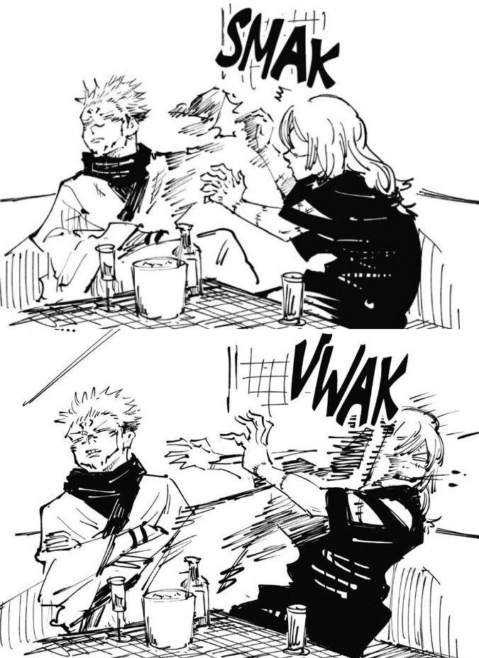 Sukuna And Mahito Fighting Jujutsu Funny Anime Pics Anime Fandom