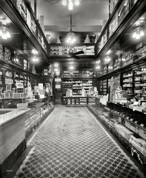 The Drugstore: 1913 | Shorpy Historical Photo Archive