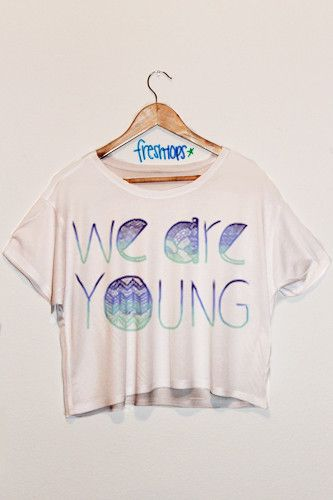We Are Young Aztec Crop Shirt, i want this, $17.00