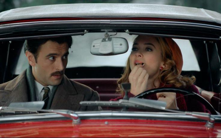 Velvet T2 C9 - Mateo se desespera enseñando a conducir a Clara