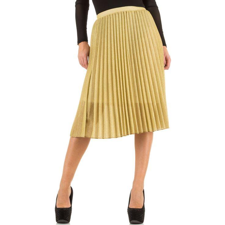 Wunderschöner plissierter Damen Rock. Kombinieren Sie diese edle Stück mit Bluse und Pumps.