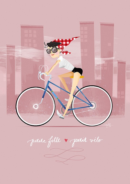 17 best images about bike art on pinterest fixed gear girl bicycle illustration and bikes