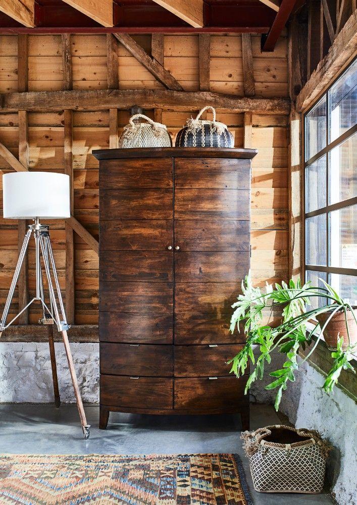 Navajos Wardrobe Chestnut Finish Wardrobes Bedrooms Timeless Bedroom Wood Wardrobe Chestnut Finish