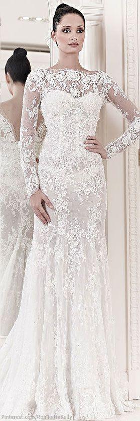 Zuhair Murad Bridal | S/S 2014 - Stunning Wedding Dress! #wedding #weddingdress #bride