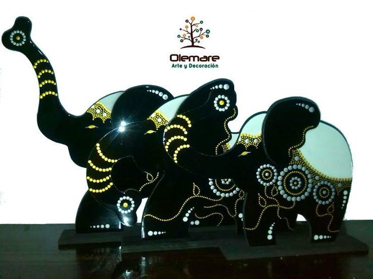 elefantes decorativos olemare arte y decoracin