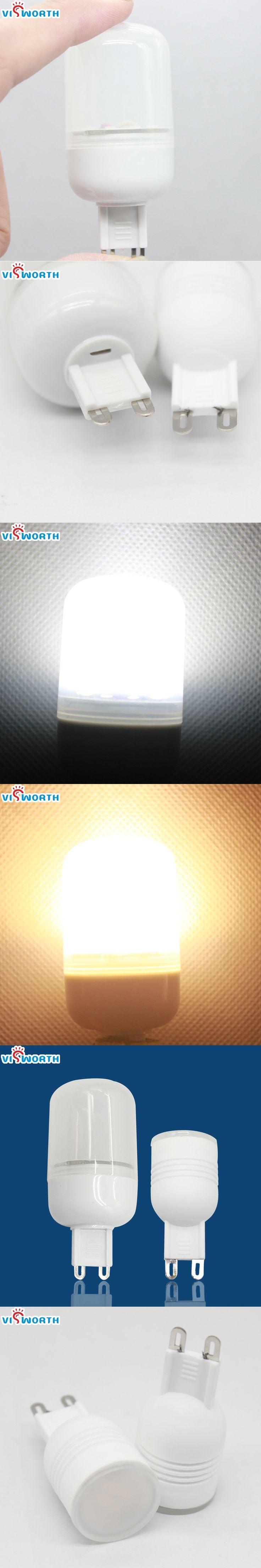 g9 led lamp ceramic mini body led bulb 3w 5w 7w smd2835 10pcs 3014 24pcs led spotlight warm cold white Replace Halogen Lights