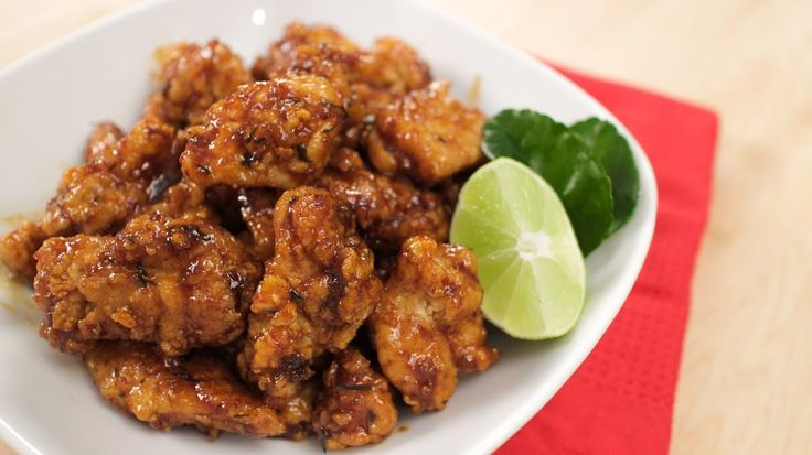 Hot Thai Chicken! - Fried Chicken in Sweet Chili Lime Sauce Recipe on Yummly. @yummly #recipe
