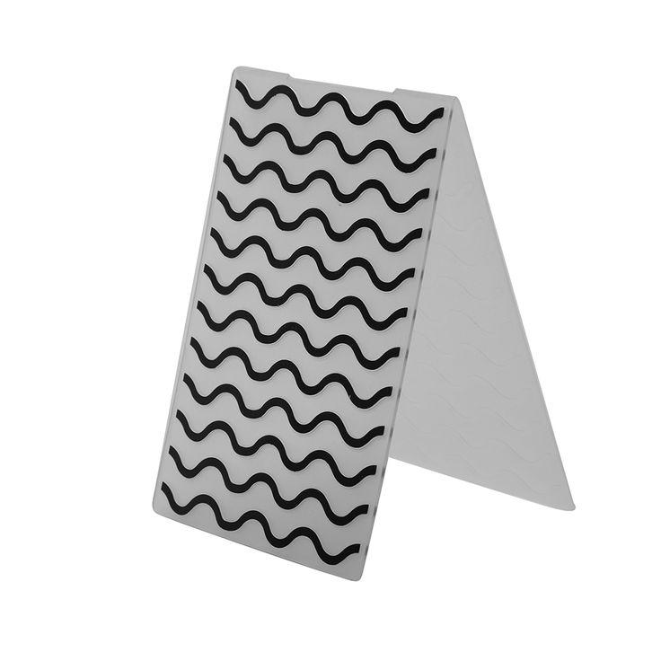1pc Corrugated,Flowers,Diagonals,Leaves Plastic Embossing Folder Template For Scrapbook Photo Album Decoration DIY Paper Card