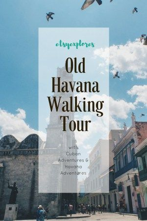 Old Havana Walking Tour - How it helped us fall in love with Havana  #Cuba #Havana (scheduled via http://www.tailwindapp.com?utm_source=pinterest&utm_medium=twpin&utm_content=post85782933&utm_campaign=scheduler_attribution)