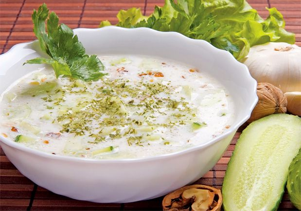 Tarator – studená polévka