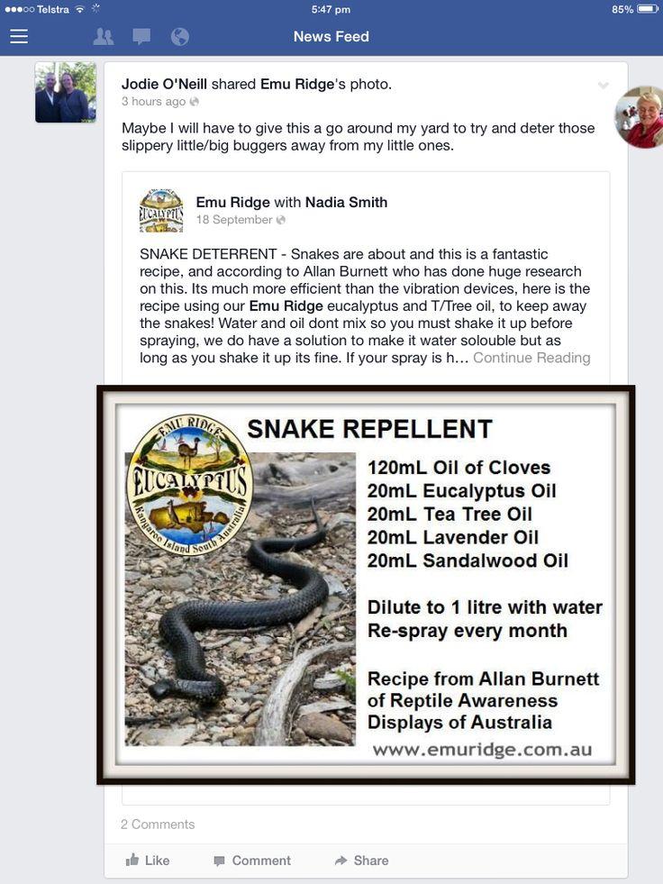 Snake Deterrent