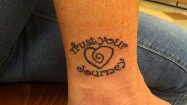 Love this Trust Your Journey Tattoo! | TYJ Tattoos for the ...