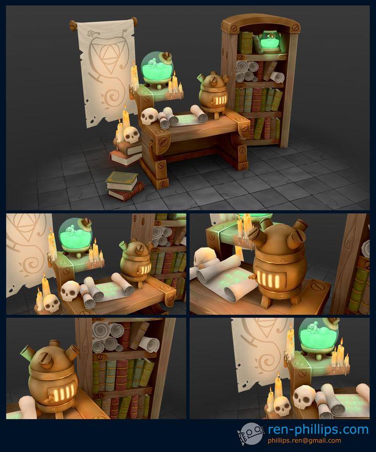 ArtStation - Alchemist's Table, Ren Phillips