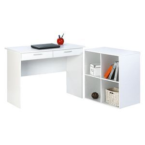 Durango Desk & 4 Cube Unit