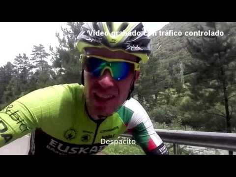 Video clip Notevisto/Despacito grabado por un grupo de ciclistas - Videos de Ciclismo