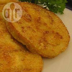 Fatias de berinjela à milanesa @ allrecipes.com.br