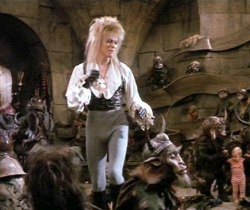 David Bowie's Jareth from Labyrinth | Labyrinth ... Labyrinth David Bowie