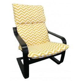 Chevron cover for IKEA Poang chair  from Knesting.com