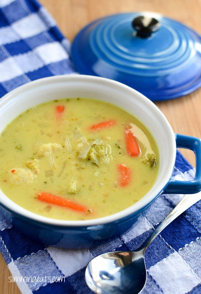 Delicious Creamy Vegetable Soup - make up a big pot of this in 30 minutes for the whole family to enjoy. Soups don't need to be complicated.