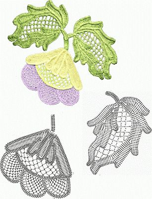Irish Lace: Flowers & Leaves