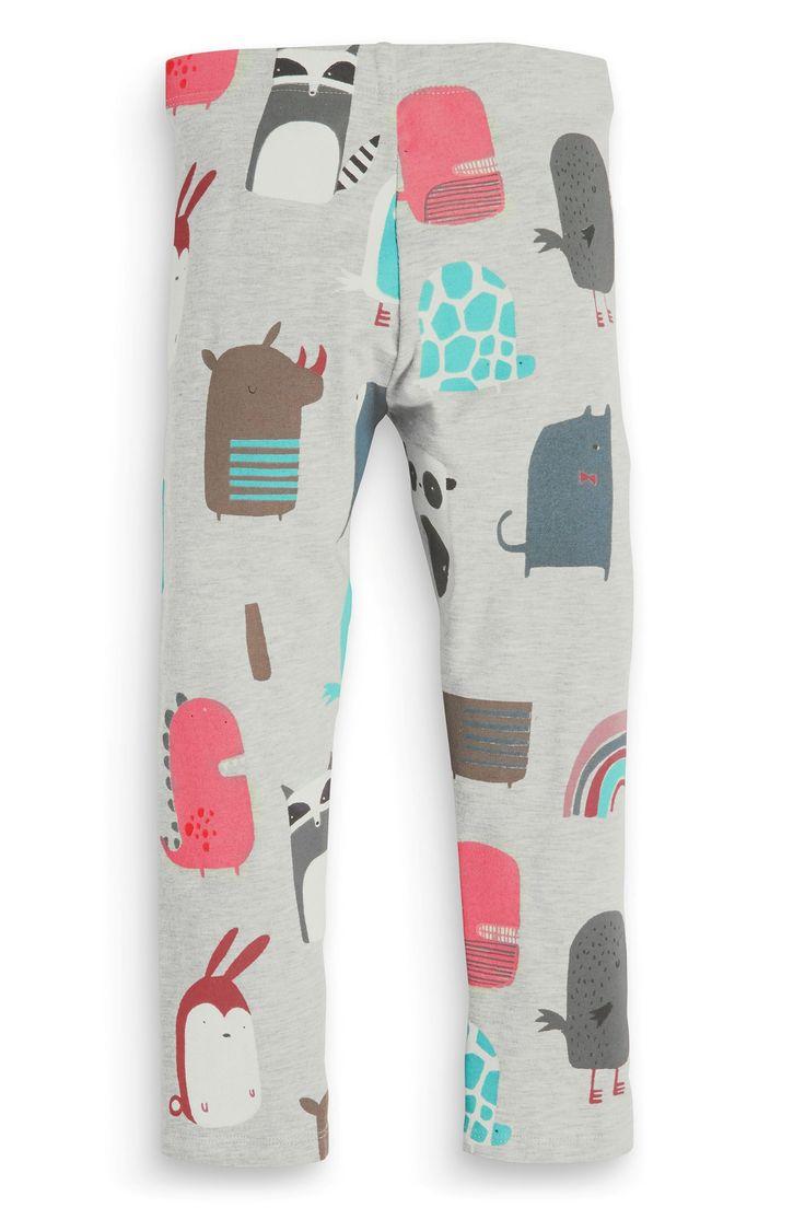 Buy Grey Dinosaur Print Leggings (3mths-6yrs) from the Next UK online shop