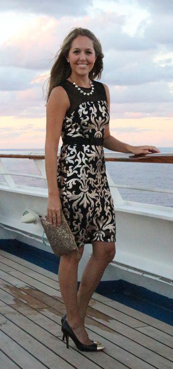 Cruise ship formal night attire