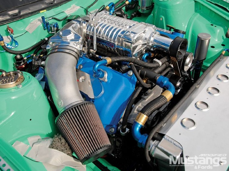 2010 Mustang Gt Supercharger Engine